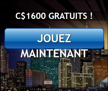bonus d'inscription casino jackpot city