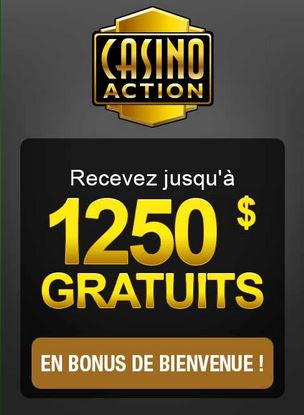 casino action bonus de bienvenue