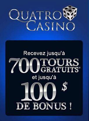 quatro casino bonus de bienvenue