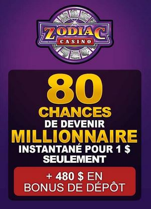 zodiac casino bonus 80 chances megamoolah